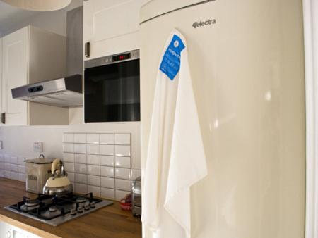 Magnotag: paño de cocina magnético