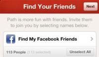 Facebook bloquea las invitaciones de Path tras sus problemas con el spam