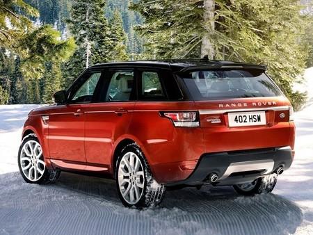 Range Rover Sport 2013, vista posterior