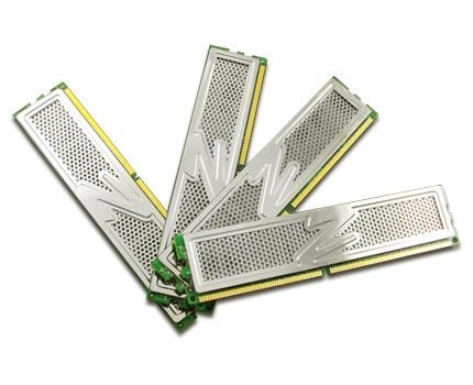 Pack de memorias RAM de OCZ, hacen un total de 8 GB