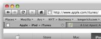 Proto, el tema Mac para Firefox 3