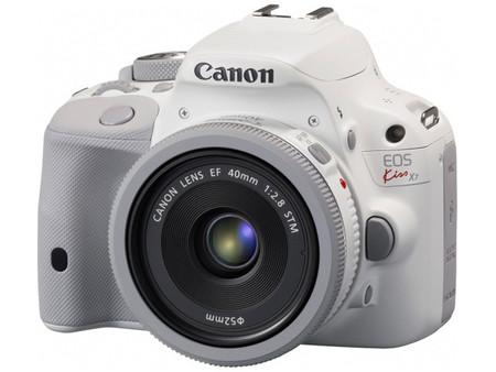 Canon EOS 100D sale al mercado en color blanco