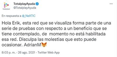 2021 09 01 13 16 49 20 Totalplayayuda En Twitter Nextic Hola Erik Esta Red Que Se Visualiza F