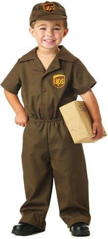 Disfraces para Halloween: Repartidor de UPS