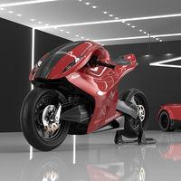 La Pagani Amaru nos hace soñar con cómo sería un Zonda convertido en moto superdeportiva con motor Mercedes-AMG