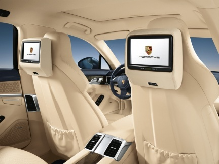El Porsche Panamera por dentro