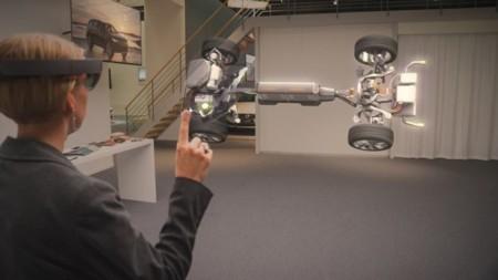Volvo echa mano de HoloLens para mostrar y diseñar coches con su realidad virtual/aumentada