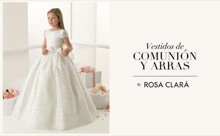 Vestidos de comunión 2013 de la colección Rosa Clará First