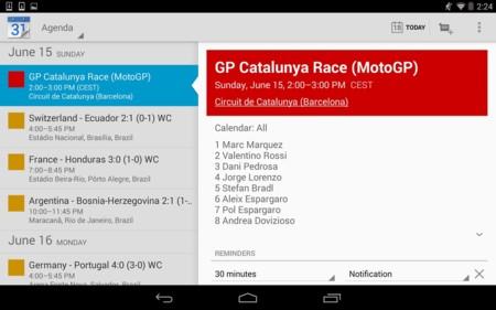 Moto Race GP Calendar