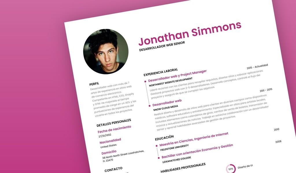 Siete páginas y servicios para hacer tu currículum online atractivo y profesional
