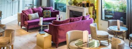 Barceló Emperatriz de Madrid, un florido hotel inspirado en la última emperatriz española