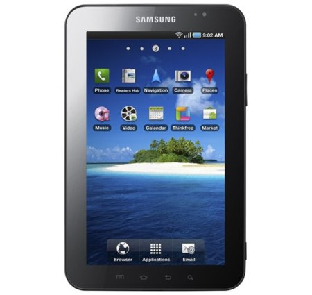 Samsung Galaxy Tab presentada oficialmente