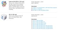 Cómo actualizar tu iPhone/iPod/iPad a iOS 4.2 y (opcionalmente) hacerle el jailbreak