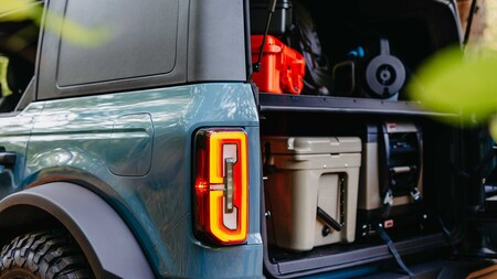 Ford Bronco Overland Concept Cargo Management System 2