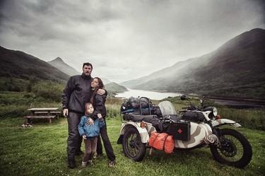 Querían enseñarle el mundo a su hijo de 4 años y le llevaron a un viaje de 28000km recorriendo Europa