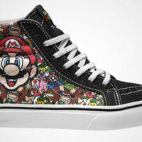 El mando de Nintendo ya no sólo es para las manos; con Vans también va en tus pies