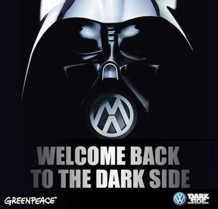 Volkswagen Greenpeace Lado Oscuro