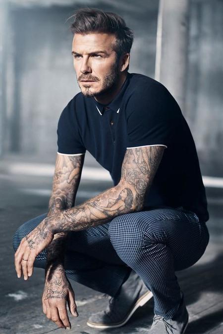 David Beckham Wardrobe H&m Trendencias Hombre