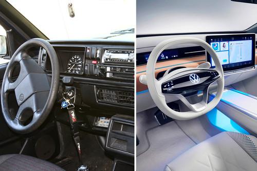 El problema de llevar interfaces táctiles a los coches es real, y cada vez va ir a más
