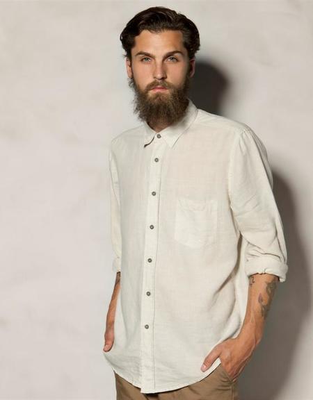 Camisa neutra Heritage Pull Bear