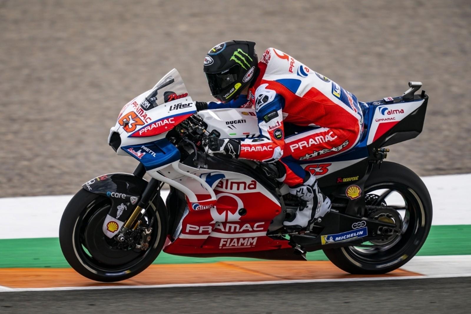 Test MotoGP Valencia 2019