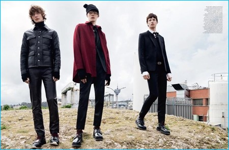 Dior Homme agrega un toque punk a las propuestas de la temporada