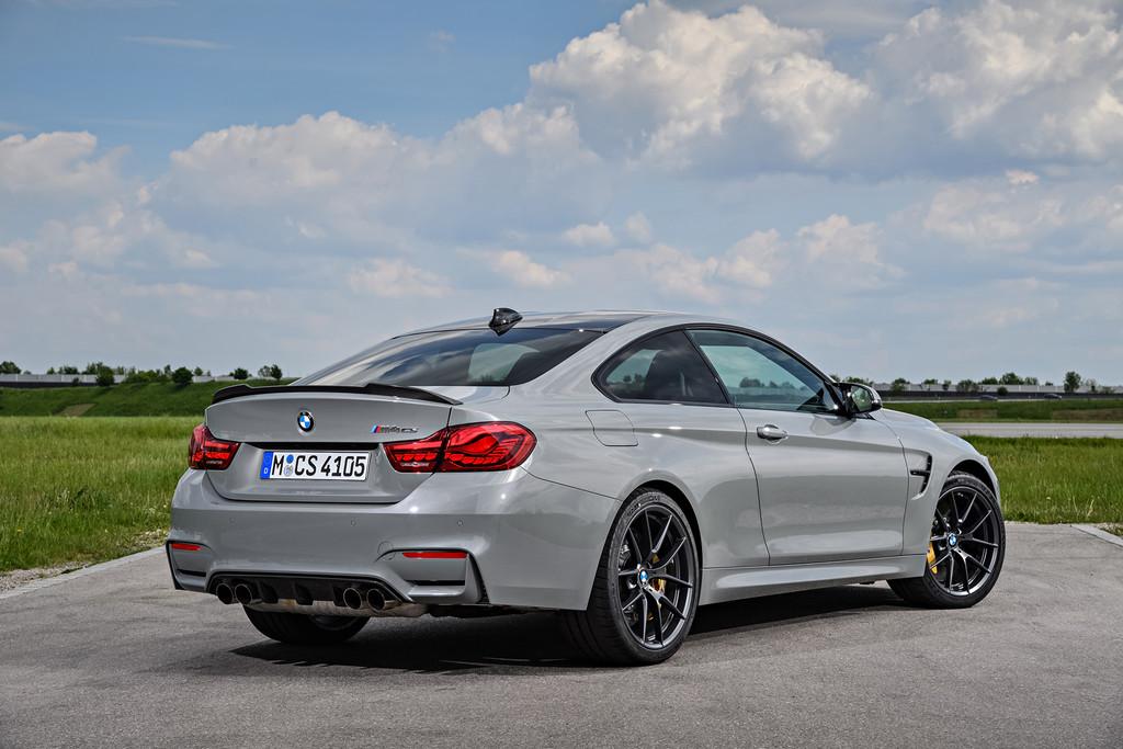 BMW M4 CS Lime Rock Grey