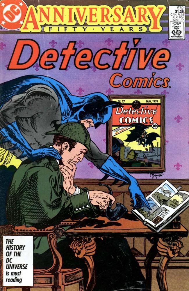 Batman con Sherlock Holmes