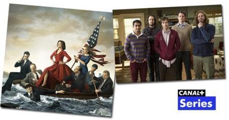 Canal+ se viste de comedia el 7 de abril con 'Veep' y 'Silicon Valley'
