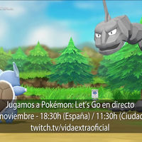 Streaming de Pokémon: Let's Go, Pikachu! y Let's Go, Eevee! a las 18:30h (las 11:30h en CDMX)