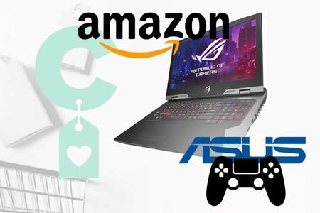 Amazon tiene montones de precios mínimos en portátiles gaming ASUS: 12 equipos para todo tipo de usuarios y bolsillos a precios mucho más interesantes
