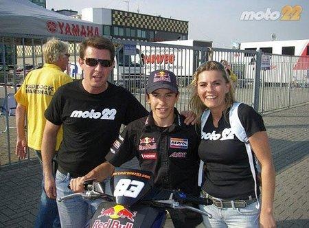MotoGP Holanda 2010: Moto22 desea suerte a Marc Márquez y este arrasa en Assen