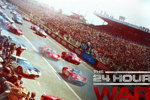 'La guerra de 24 horas', la rivalidad entre Ford y Ferrari en Le Mans evocando al puro automovilismo clásico