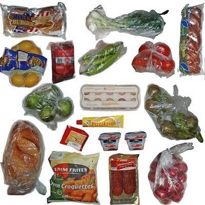 Alimentos envasados.