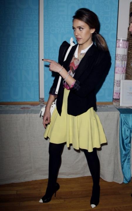 Jessica Alba eventos 2012