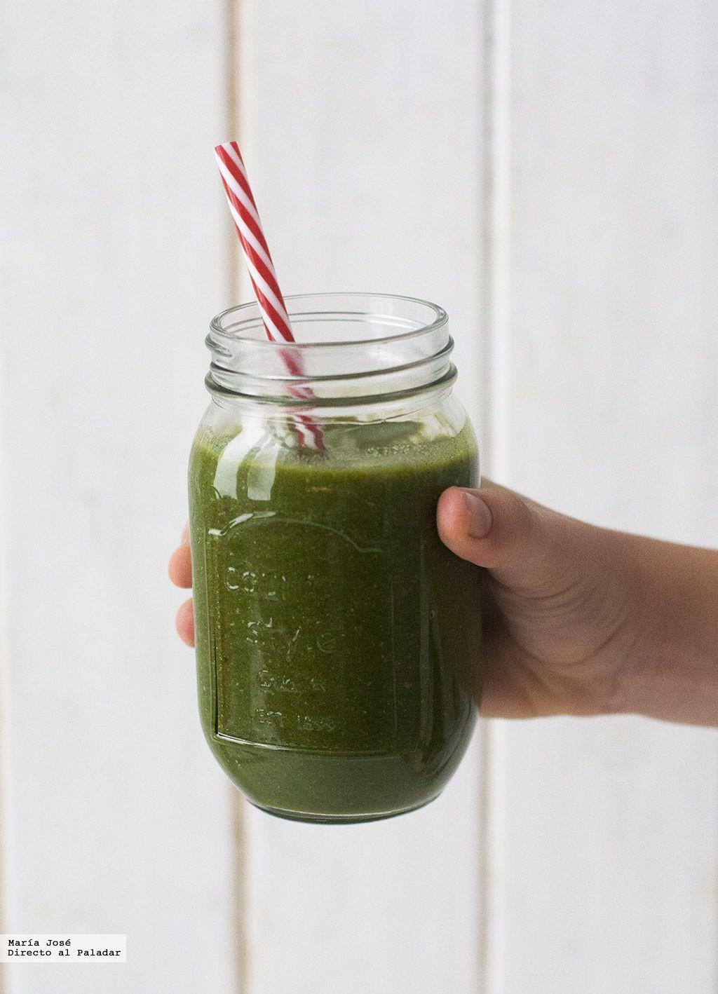 Receta de batido verde para el desayuno: empieza el día con las pilas cargadas a tope