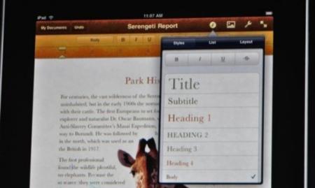 interfaz iBooks
