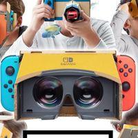 Por supuesto, el kit de realidad virtual de Nintendo Switch esconde un huevo de pascua del Virtual Boy