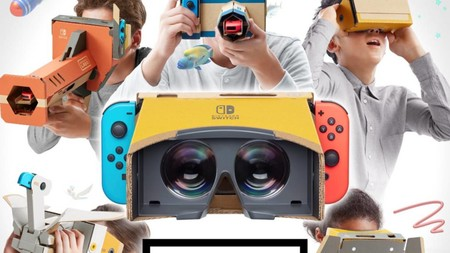 Por supuesto, el kit de realidad virtual de Nintendo Switch esconde un huevo de pascua del Virtual Boy