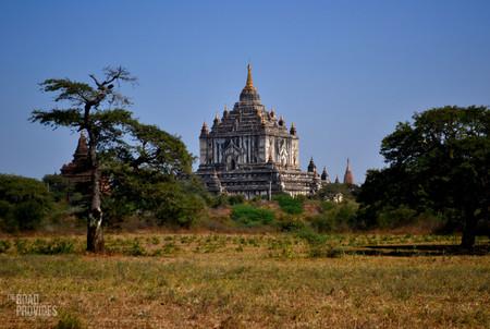 templo blanco Bagan