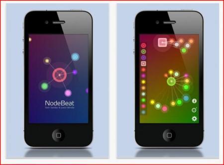 NodeBeat en el iPhone