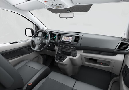 Toyota Proace Electric Van Interior