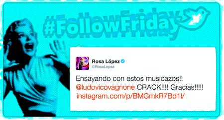 #FollowFriday de Poprosa: los triunfitos se preparan para su concierto
