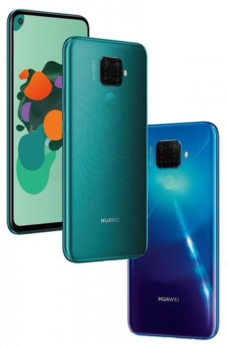 Huawei Mate 30 Lite Leaked Renders 1 673x1024