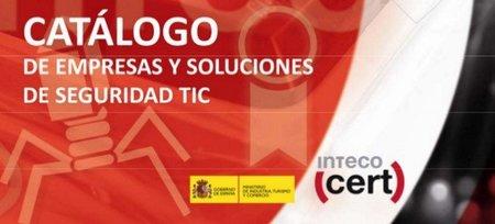Nueva versión del Catálogo de Empresas y Soluciones de seguridad TIC de INTECO