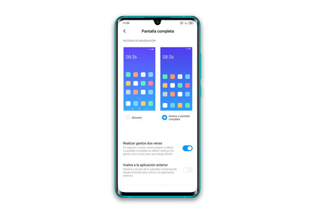 Xiaomi Mi Note 10 Navegacion