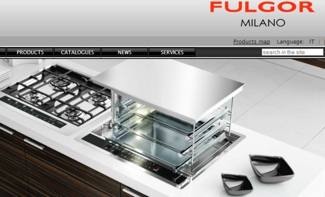 Horno elevable Lift de Fulgor