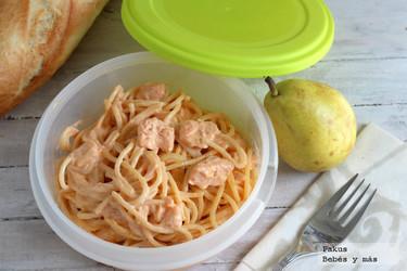 Recetas para la vuelta al cole: los espaguetis Pantera Rosa