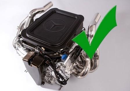 El motor de Hamilton recibe el visto bueno de la FIA
