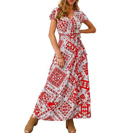 Vestido Maxi Amazon
